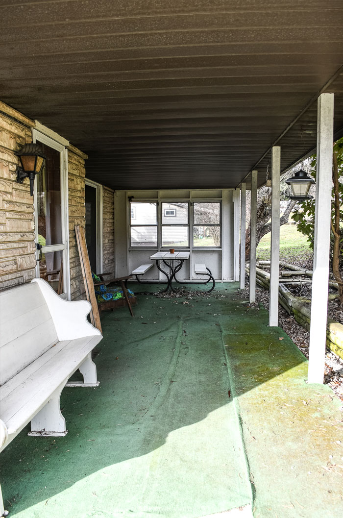 Fixer Upper Porch