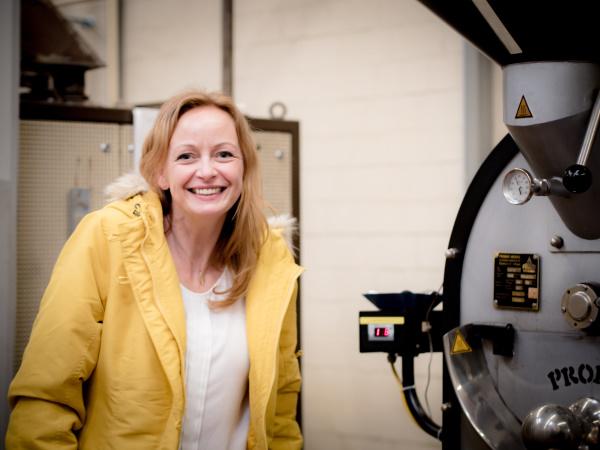 In der Kaffeerösterei - Wissen über Kaffee | titatoni - Renate Bretzke
