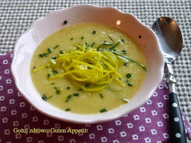 Zupa krem porowo-ziemniaczana - Czytaj więcej »