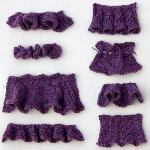 How to Knit Ruffles - Free Stitch Patterns