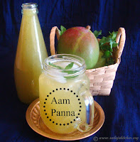 images of Aam Panna Recipe / Aam Ka Panna Recipe / Raw Mango Panna / Raw Mango Drink - A Summer Drink