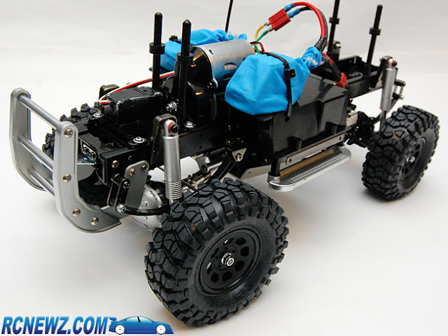 Tamiya High Lift waterproof electronics