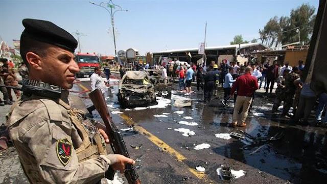 Terror blasts in Iraq's Basra, Baghdad kill 35, injure 45