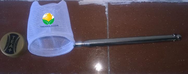 vợt 3D nhỏ gọn thích hợp cho hồ thủy sinh nuôi tép