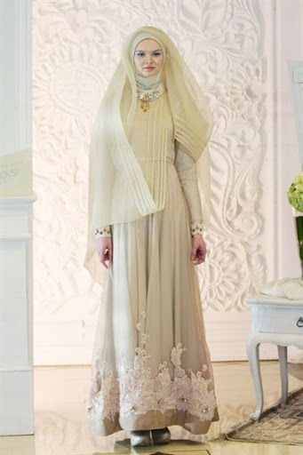 21 Model Gaun Pengantin Muslimah Syar I Dan Elegan Terbaru 2017 2018