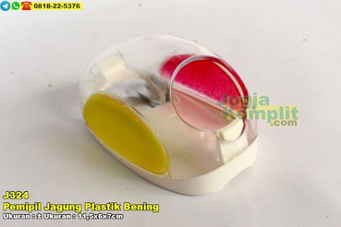 Pemipil Jagung Plastik Bening