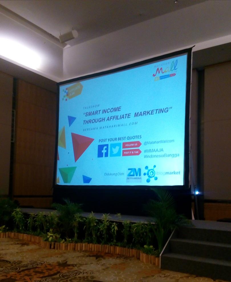 Gathering MatahariMall : Smart Income Through Affiliate Marketing