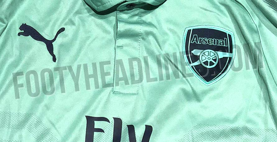 dcde7ca02a0 The new Puma Arsenal 2018-2019 third kit will boast a fresh color  combination. Likely the last made by Puma as Adidas is reported to take  over from the ...