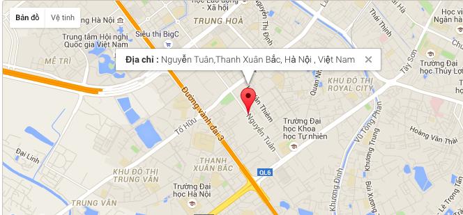 Vị trí dự án 82 Nguyễn Tuân