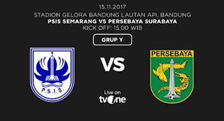 Persebaya Menang 1-0 atas PSIS Semarang  - Babak 8 Besar Liga 2 2017