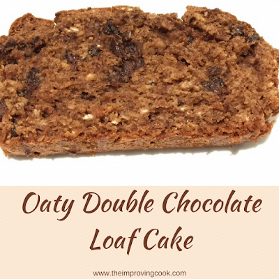 Slice of Oaty Double Chocolate Cake
