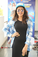 Actress Tejaswi Madivada Stills in Balck Long Dress at Babu Baga Busy Movie Interview  0014.jpg