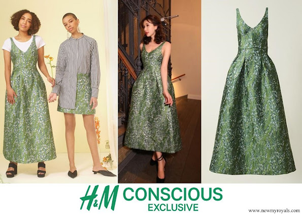 Crown Princess Mary wore H&M Skirt - H&M Conscious Exclusive Collection