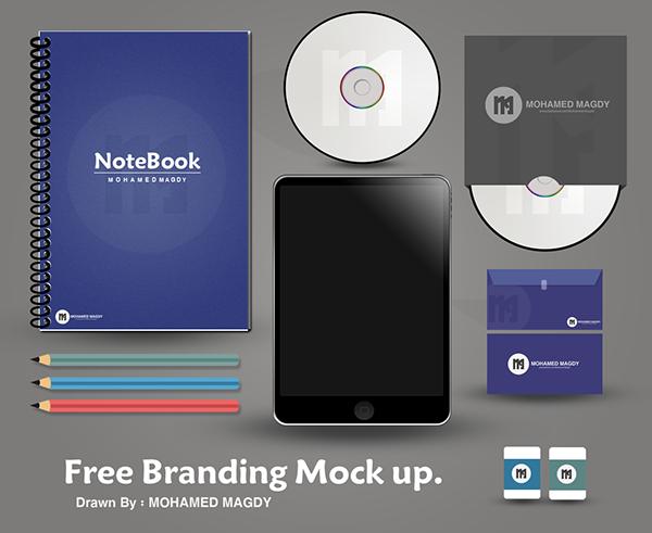 Free Branding Mock-up PSD