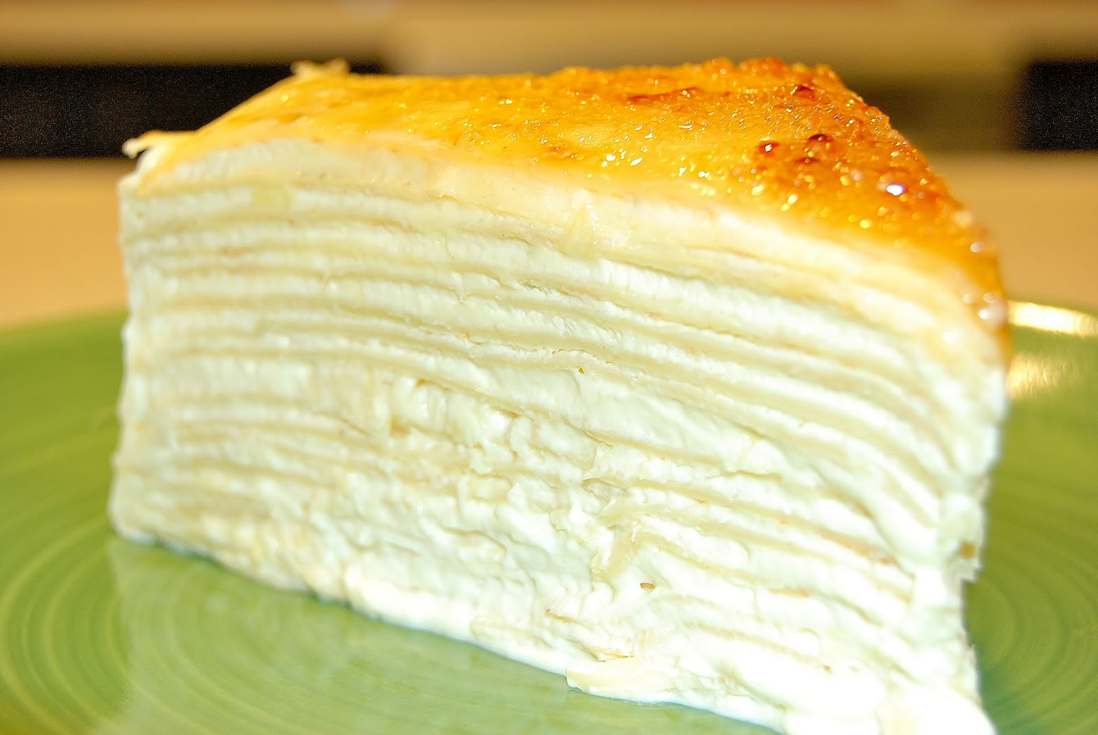 Durian Mille Crepe Cake Recipe