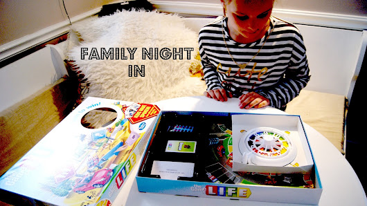 Family Board Games Night