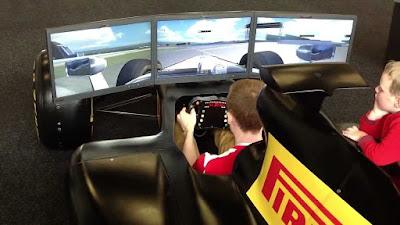 F1 sports simulator