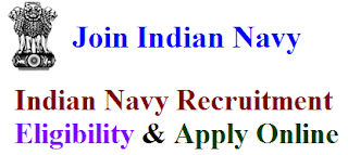 Indian Navy Recruitment 2017 Eligibility & Apply Online