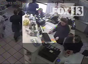 FBI surveillance video obtained by FOX 13 inside an FLDS Church-run store in what prosecutors allege shows the food stamp fraud scheme.