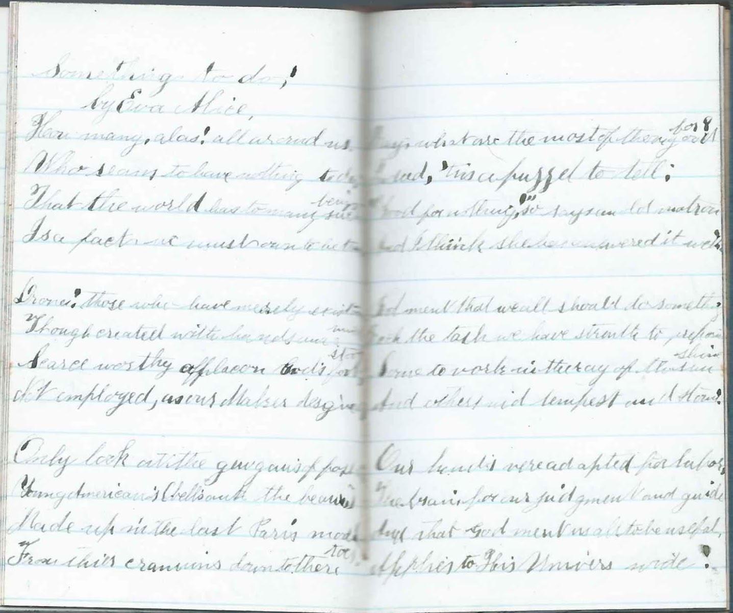 Heirlooms Reunited: December Entries & Memoranda Pages in