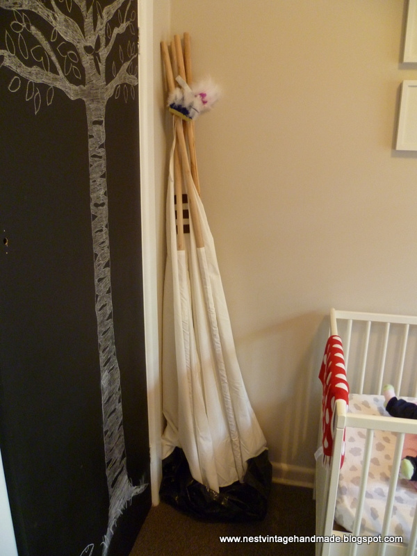 Nest Vintage Amp Handmade Scandinavian Woodland Themed Nursery