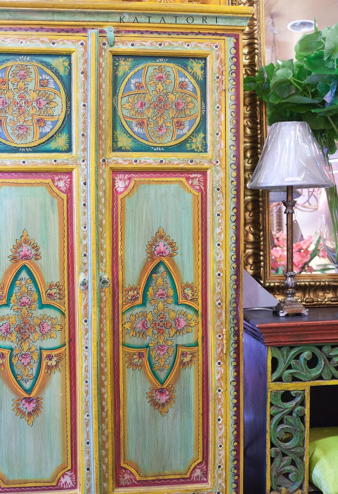Katatori interiores muebles pintados a mano - Armarios pintados a mano ...