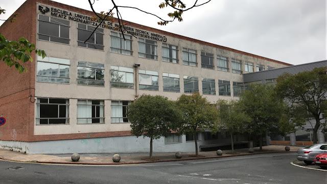 Edificio de la escuela de Minas