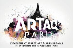 Expo : Artaq Paris, 3ème Edition - Street art et arts urbains à l'Espace Cardin - Paris 8