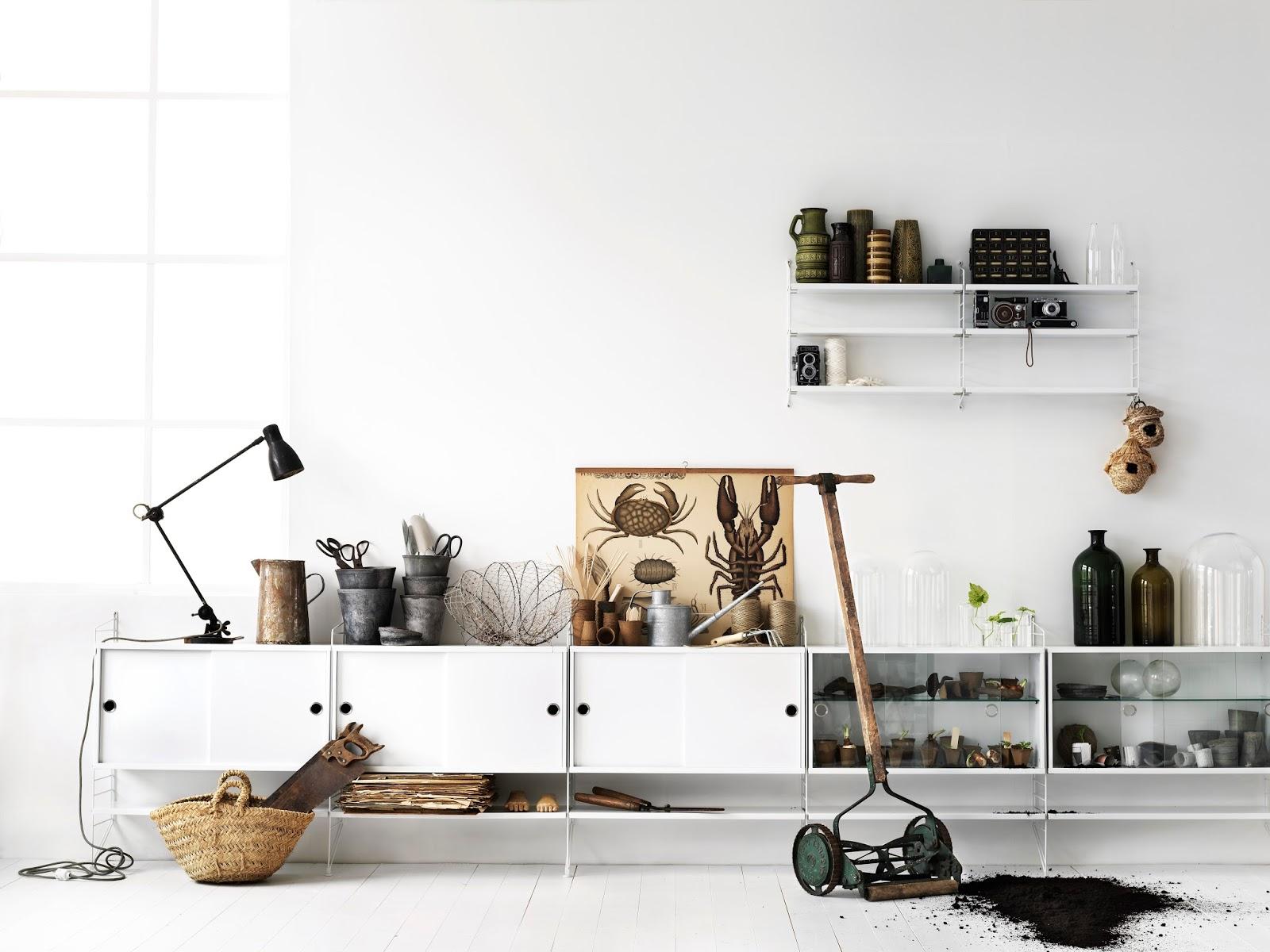 Design String Kasten : Interieur trend make it a string