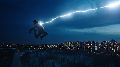 Shazam 2019 DC movie still Billy Batson Asher Angel