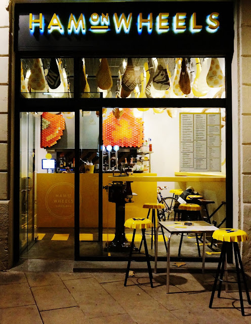 Ham on Wheels, Barcelona, restaurante fast food premium, External Reference