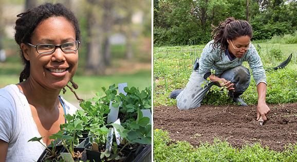 Founder of Black-owned urban farm