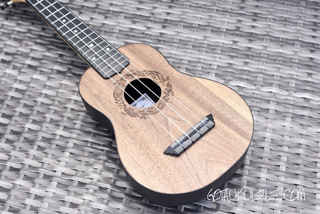 Flight Travel Ukulele body