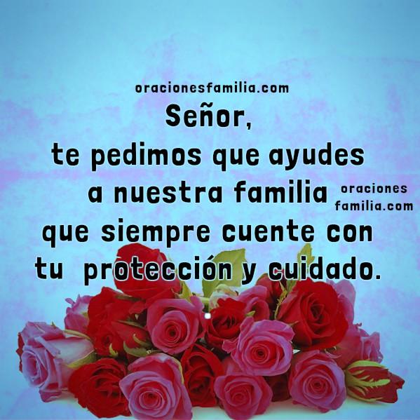 Oraciones cortas para la familia, comenzar el día con oración por mi familia, plegaria, Dios bendice mi hogar, oraciones Mery Bracho