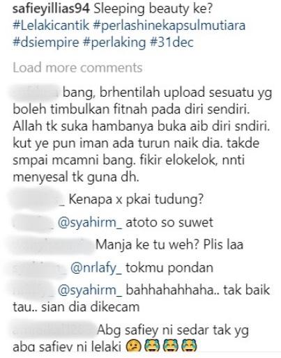 Netizen Mohon Safiey Berhenti Upload Perubahan Jadi Perempuan
