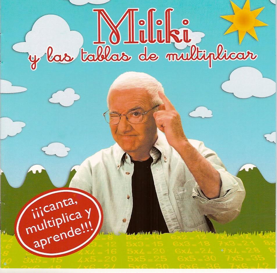 Repasa las tablas con Miliki
