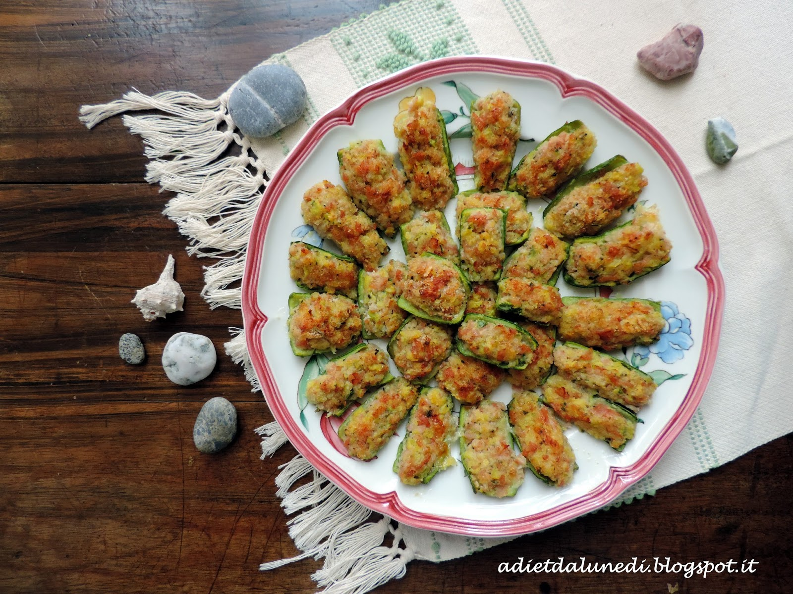 Diete Veloci E Facili : A dieta da lunedì zucchine ripiene facili e veloci per il brunch
