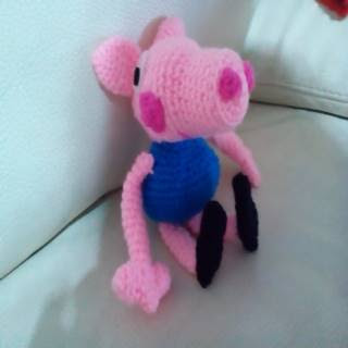 George and Peppa Pig amigurumi pattern English español and | Etsy | 320x320