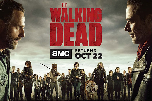 The Walking Dead - banner Stagione 8