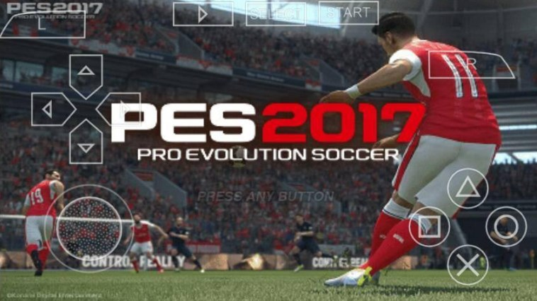 Download Game Pes 2017 PPSSPP Android Iso + Save Data Terbaru