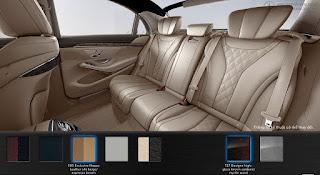 Nội thất Mercedes S500 L 2015 màu Vàng Silk 505