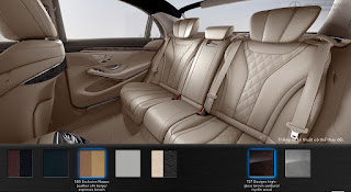 Nội thất Mercedes S500 L 2016 màu Vàng Silk 505