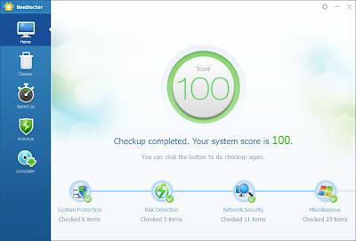 أفضل برنامج BeeDoctor على الإطلاق في تسريع جهازك و حمايته من الفيروسات مجانا
