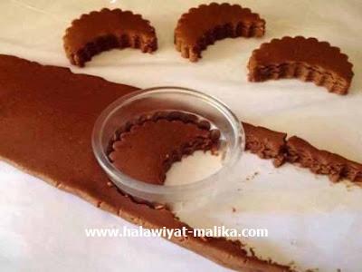 صابلي الكاكاو واللوز هش ولذيذ
