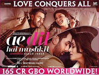 Ae Dil Hai Mushkil  7th Day Worldwide Box Office Collection: