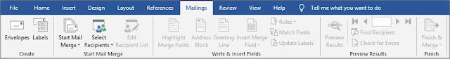 6. Tab Mailings