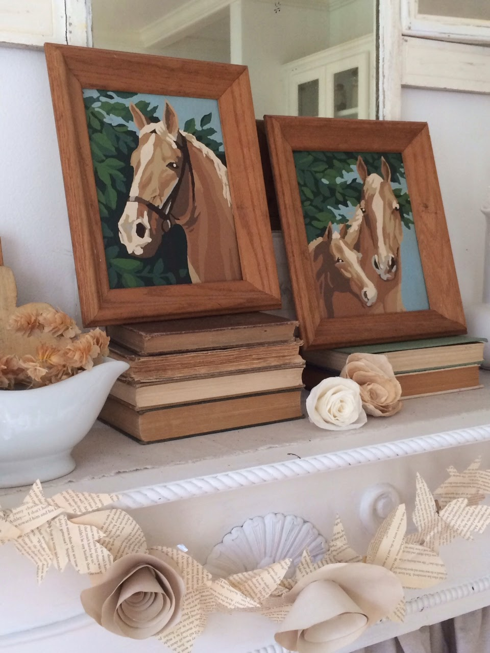 Little Farmstead Equestrian Style Decorating