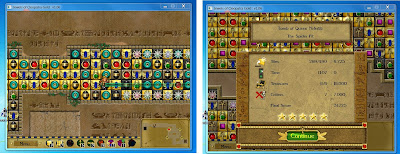 Jewels of Cleopatra, PC game, puzzle game