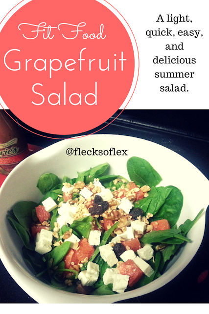 summer grapefruit salad