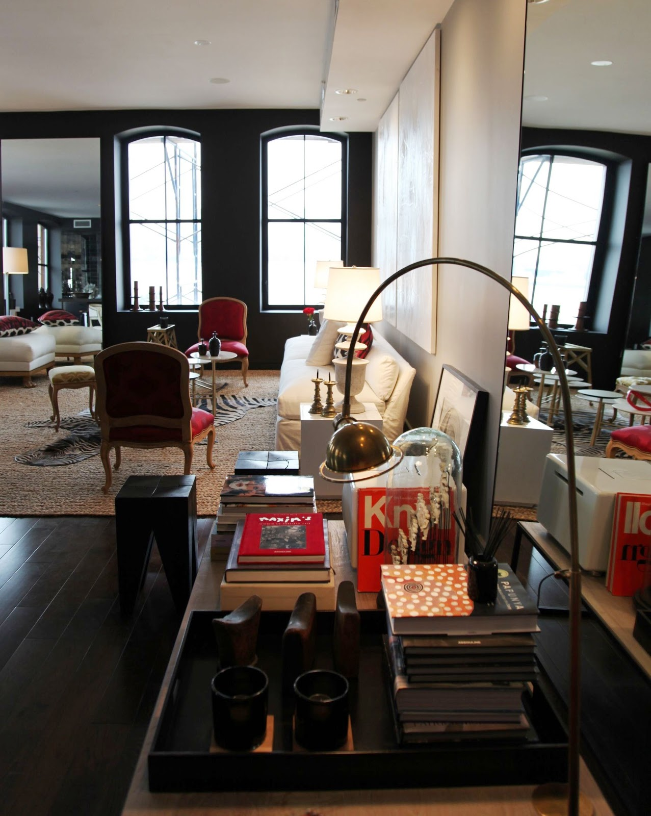 Antony Todd Sofa Stella Red Convertible Bed Minima Home Hearst Designer Visions